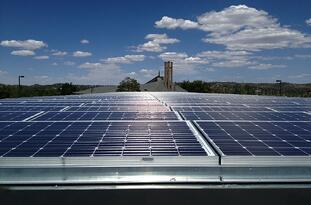 Solar Panel Installer Sun Valley Solar Solutions - Sacred Heart Church in Prescott Arizona