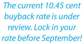 APS buyback rate decrease