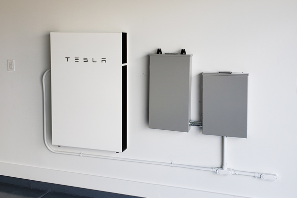 Clean Tesla Battery Installation-1-1