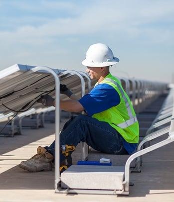 commercial solar diagnostic check