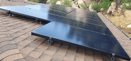 all-black solar panel