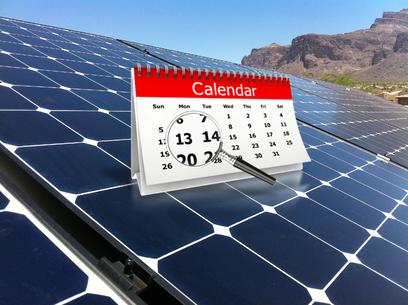 Solar deadlines photo