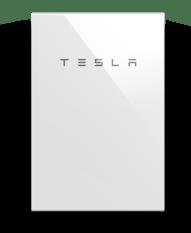 Tesla Straight On
