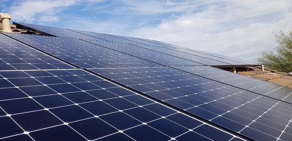 solar energy rooftop