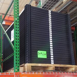 Solar Panel Storage