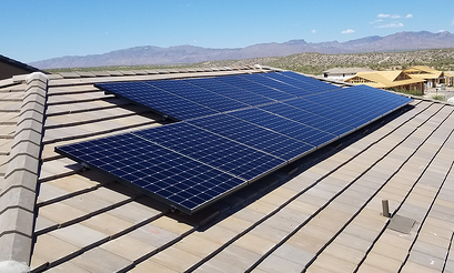 solar on new home build arizona-1