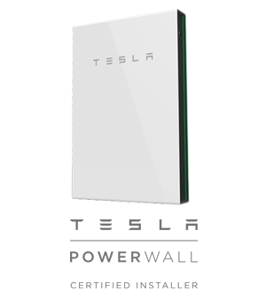tesla powerwall and logo_no background