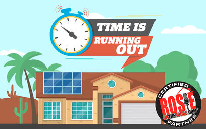 time is running out with ROTH logo