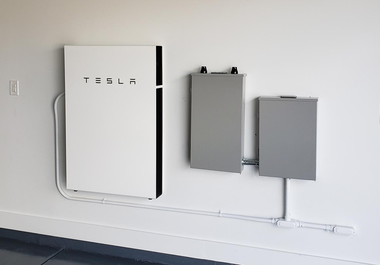 Clean Tesla Battery Installation-1